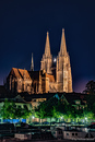 Regensburger Dom @night
