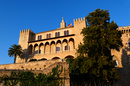 Royal Palace of La Almudaina in Palma de Mallorca