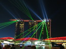 Lightshow in Singapore