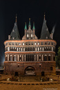 Holstentor @night