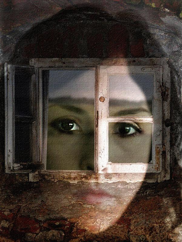 Augen Fenster Zur Seele