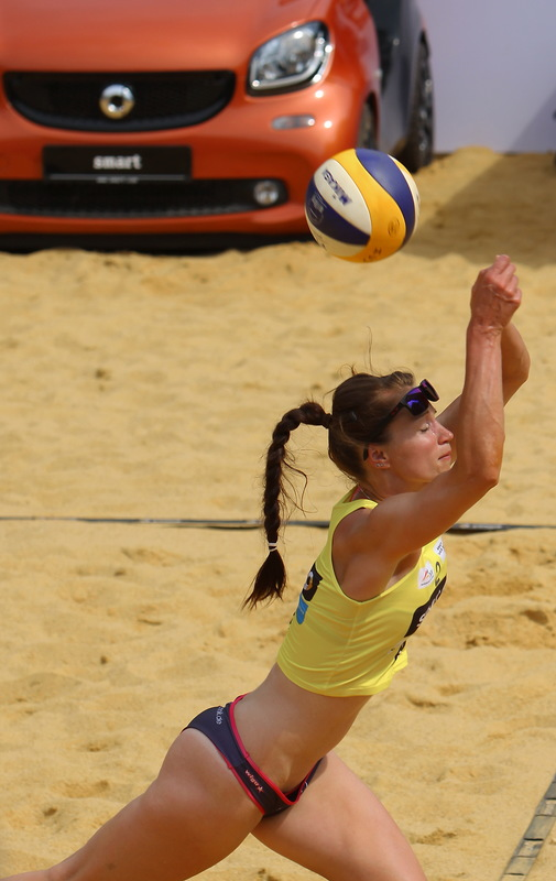 SMART Beachvolleyball in Jena 2016 - I
