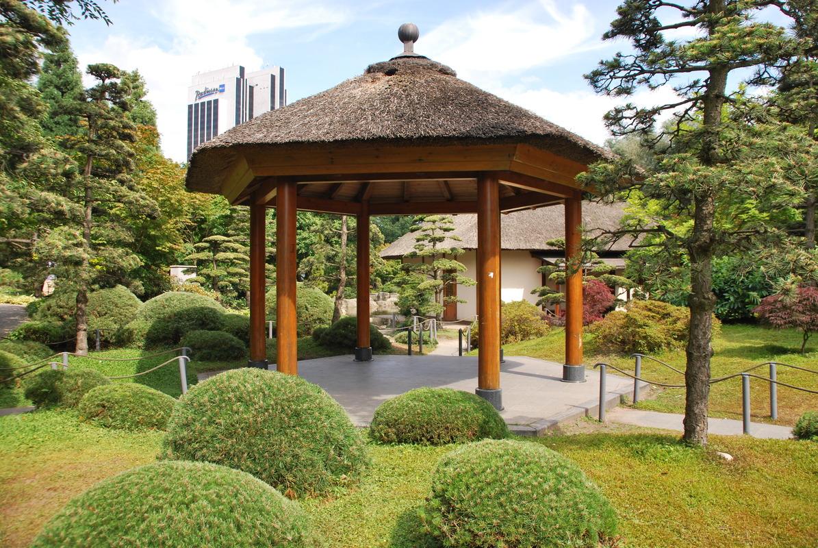 Japanischer Garten In Planten Un Blomenhamburg Fotocommunityto